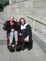 Gran at Ann's Graduation